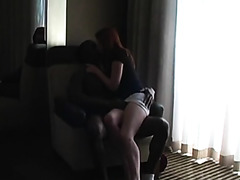 Red head wife receives fucked by bbc