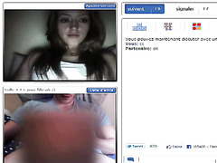 Strip and jerking off on video chat