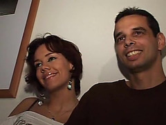 German spouse and wife share a mature I'd like to fuck 3some