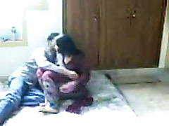 Hawt desi woman making love with her boyfriend on hidden web camera
