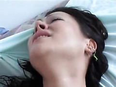 First painfull anal moments for this lady