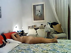 Fucking my sissy thrall with a dildo