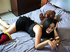 French Girl Pie Has A Darksome threesome