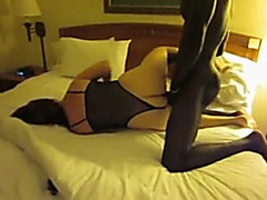 Non-Professional cuckold wife enjoying BBC for hubby